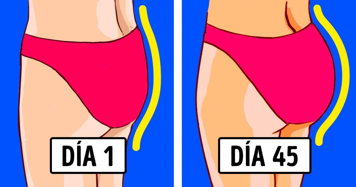8 Ejercicios eficaces para hacer que tus glúteos sean más redondos