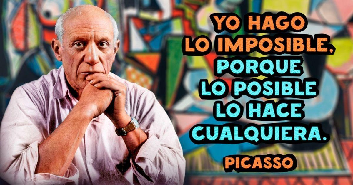 21Frases divertidas yprofundas dePablo Picasso