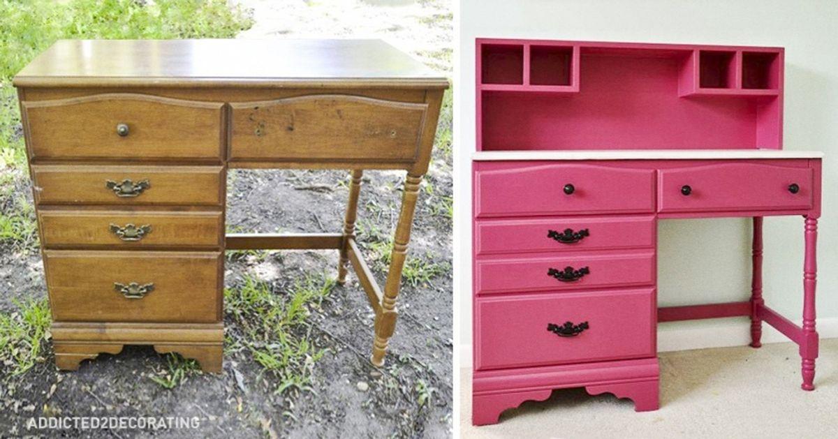 15Grandes ideas para renovar tus viejos muebles