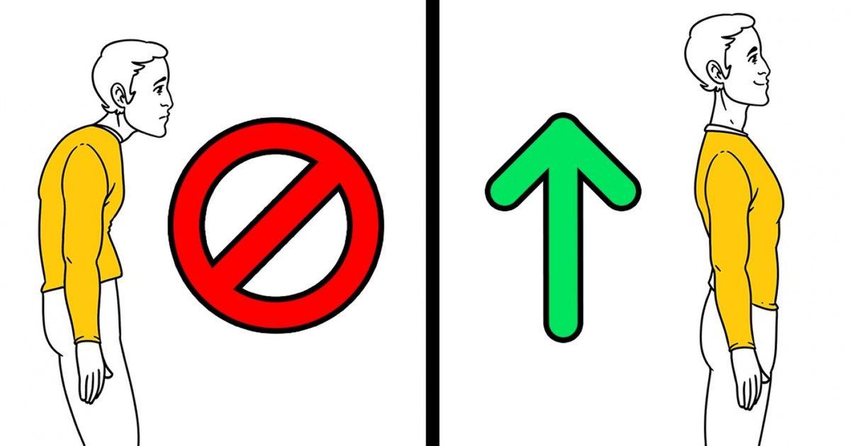 9Maneras sencillas detener una postura perfecta