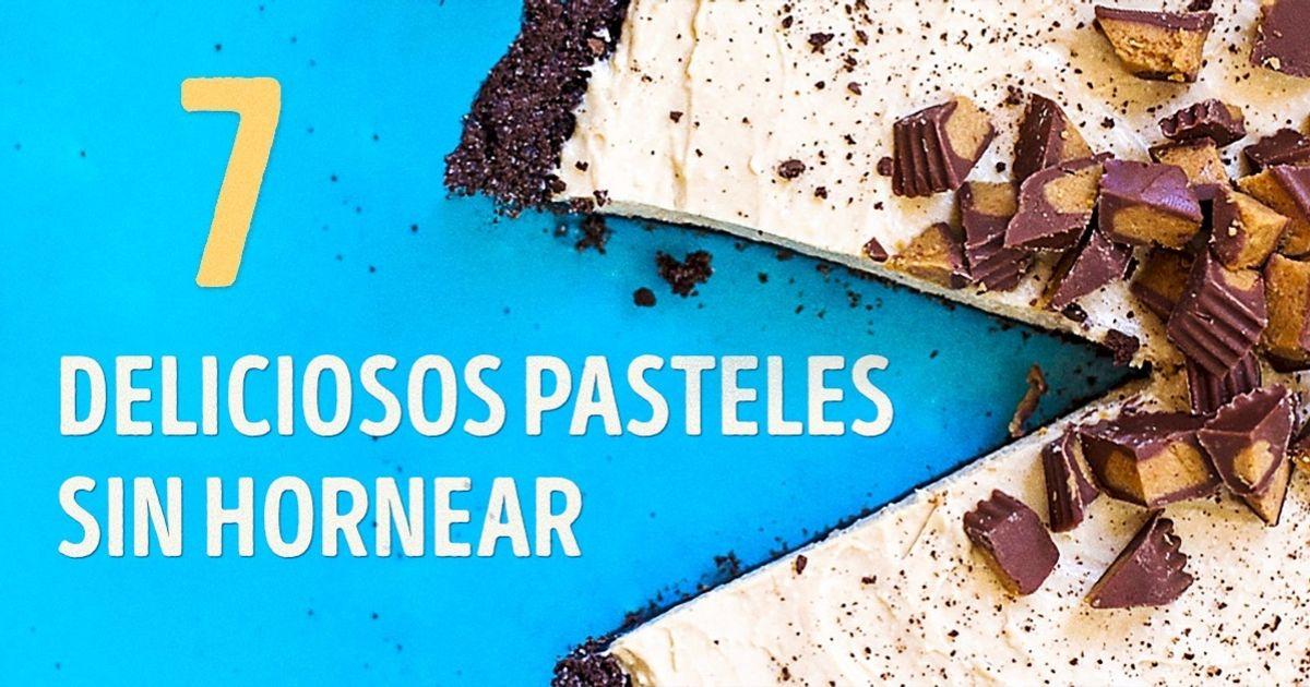 7Deliciosos pasteles que notienes que hornear
