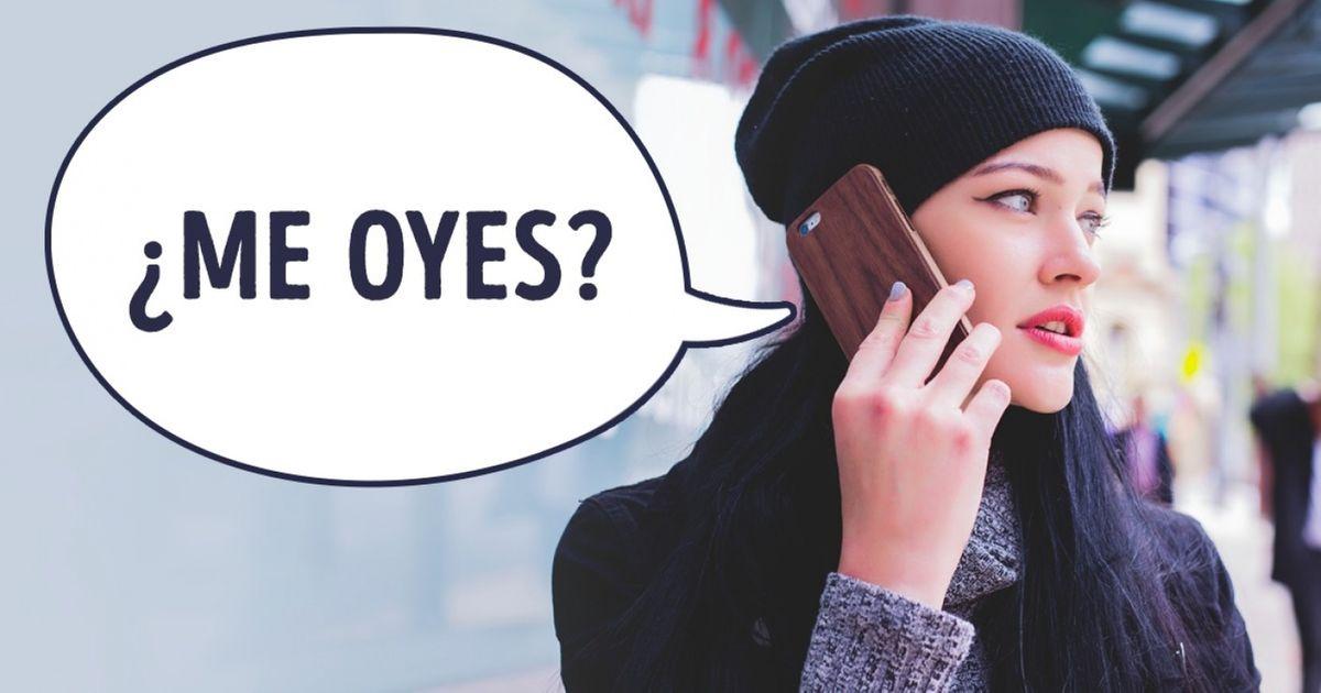 Sioyes estas palabras por teléfono, cuelga deinmediato
