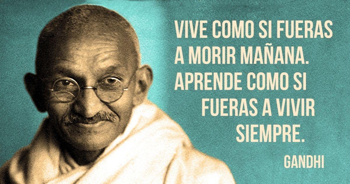 15Frases célebres deMahatma Gandhi