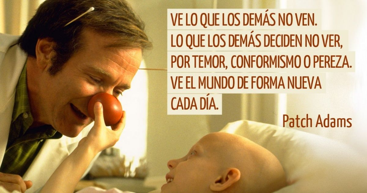 15 Frases célebres de Patch Adams