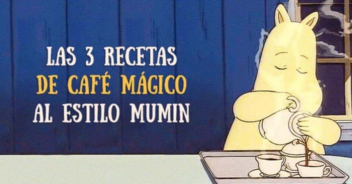 Las 3recetas decafé mágico alestilo Mumin