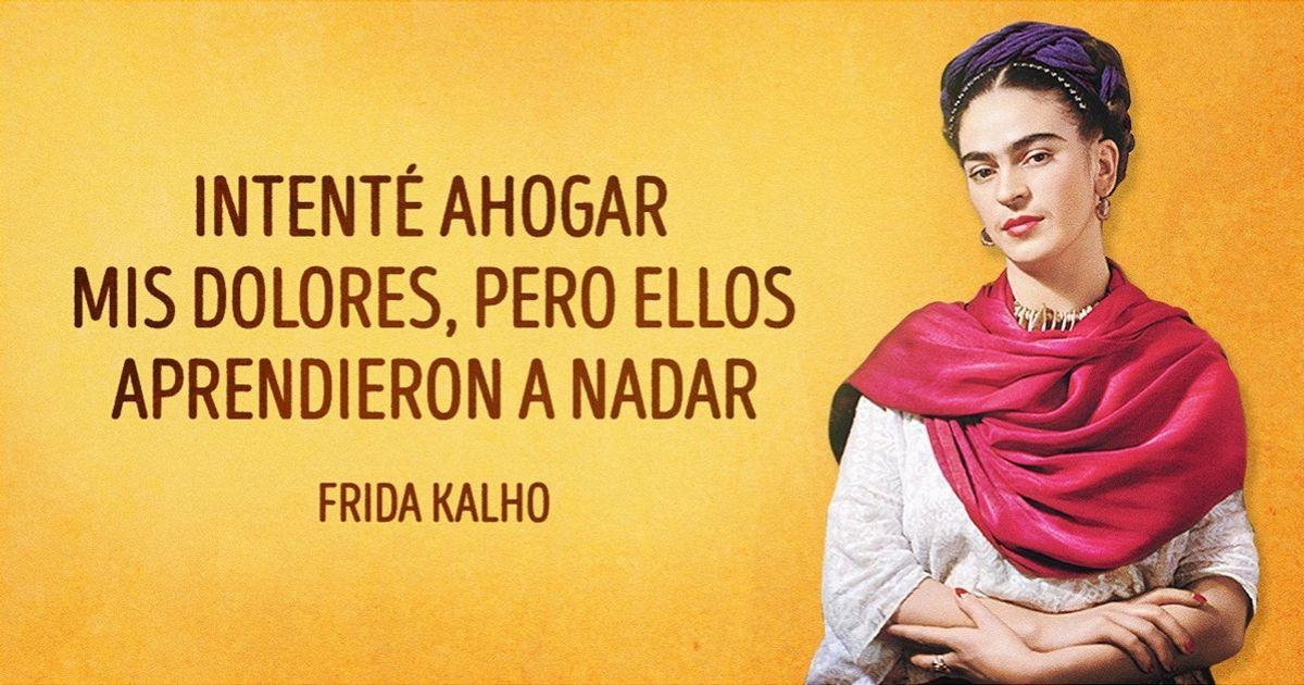 15Contundentes einstigadoras frases deFrida Kahlo