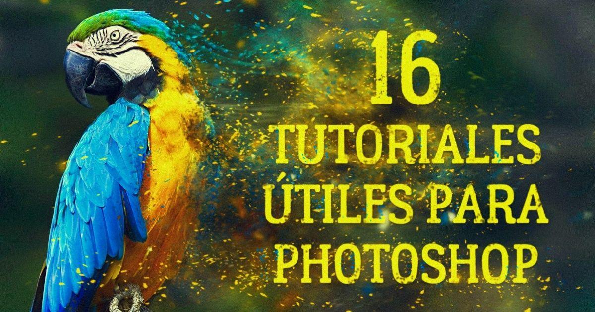 16Video-tutoriales para Photoshop que leserán útiles atodo elmundo