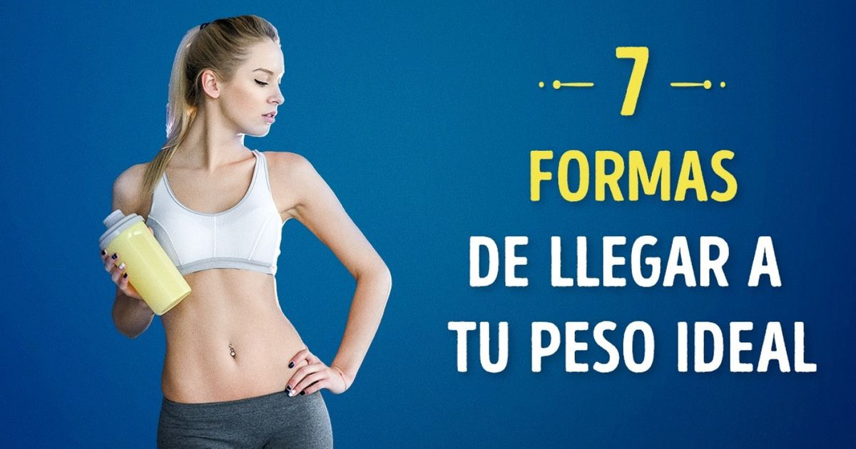 7Formas geniales deganar masa muscular yllegar atupeso ideal