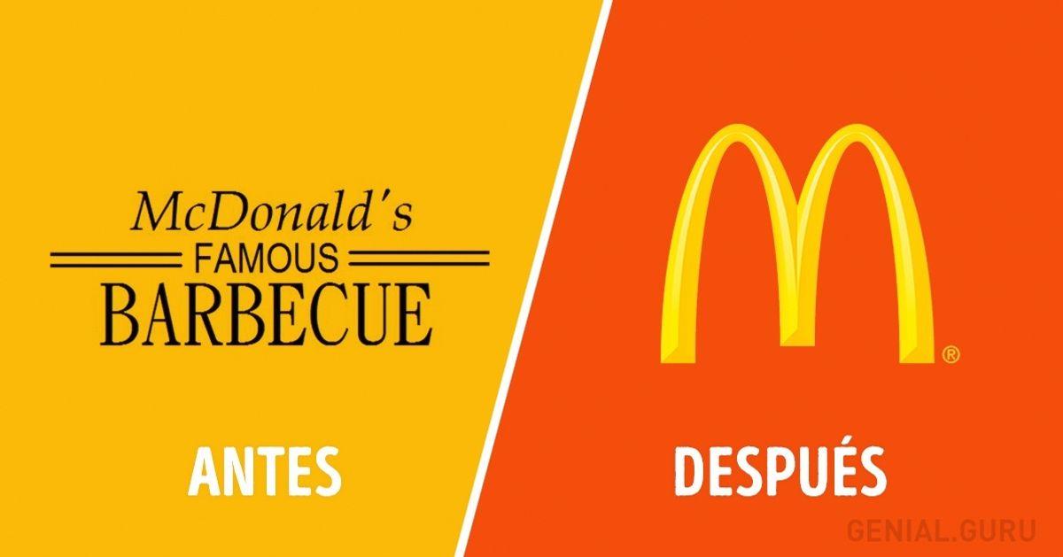 Cómo han cambiado los logos dealgunas empresas famosas