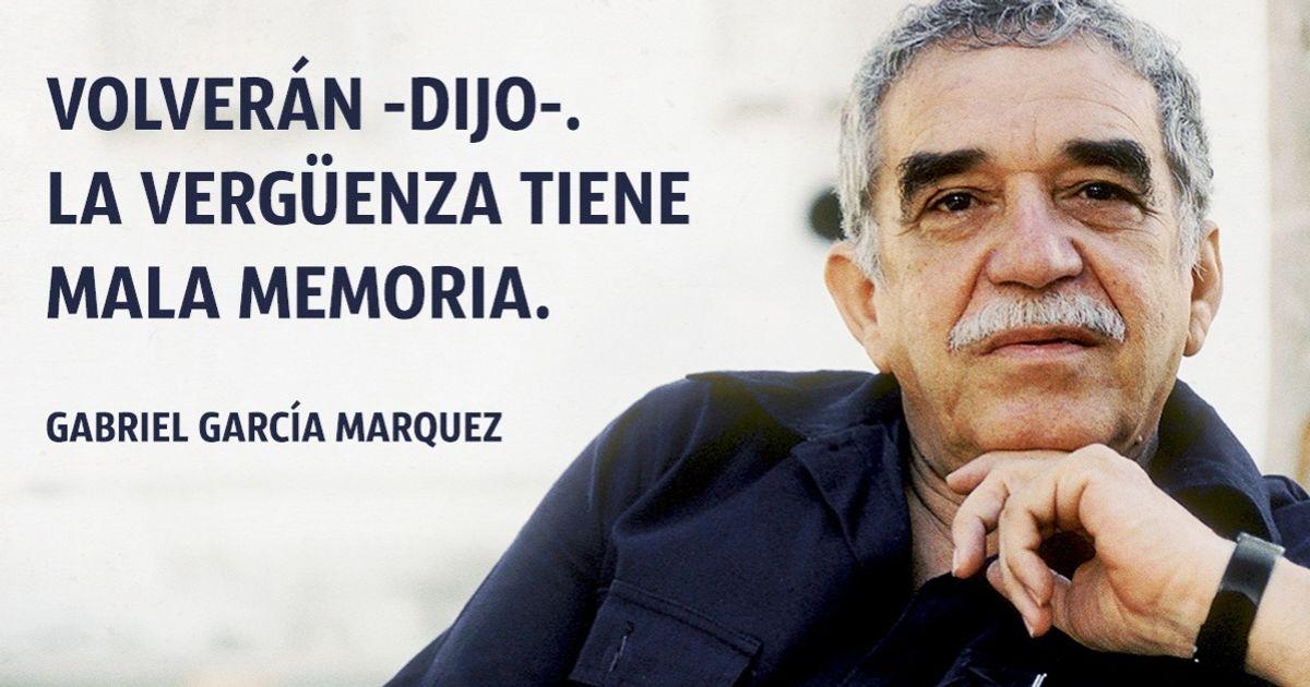 15Frases célebres deGabriel García Márquez
