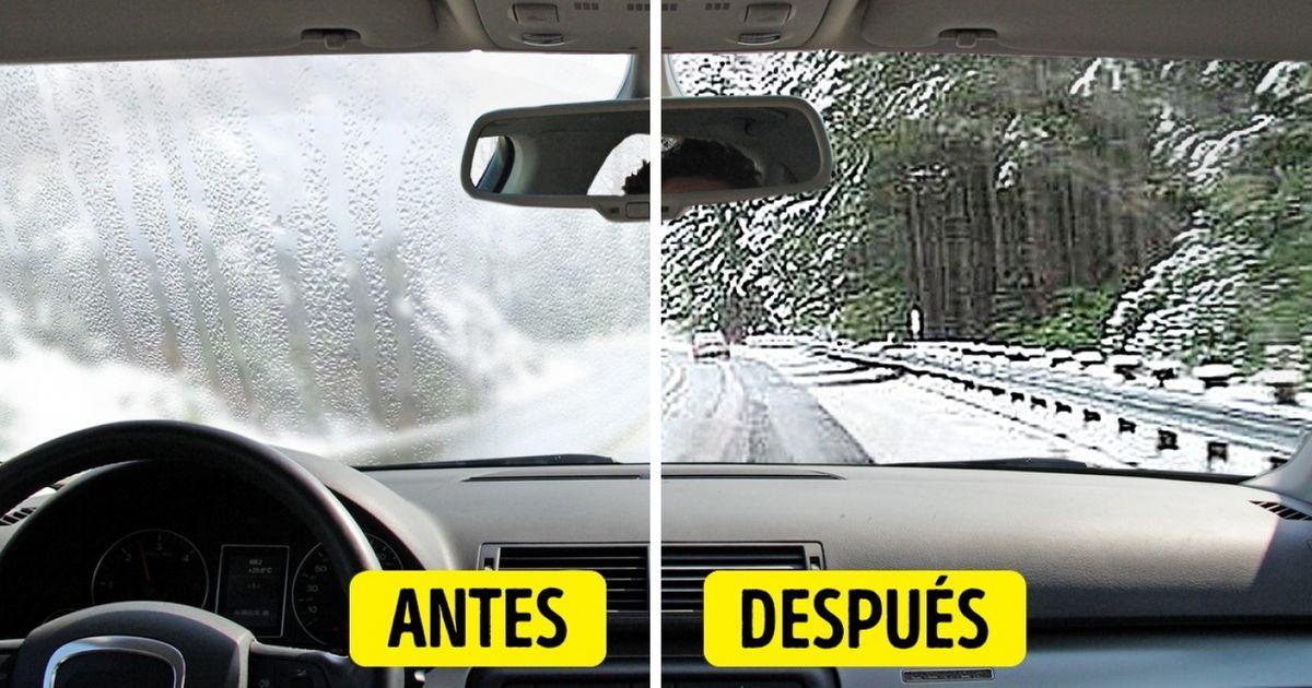 Cómo evitar que elparabrisas ylas ventanillas detuauto seempañen