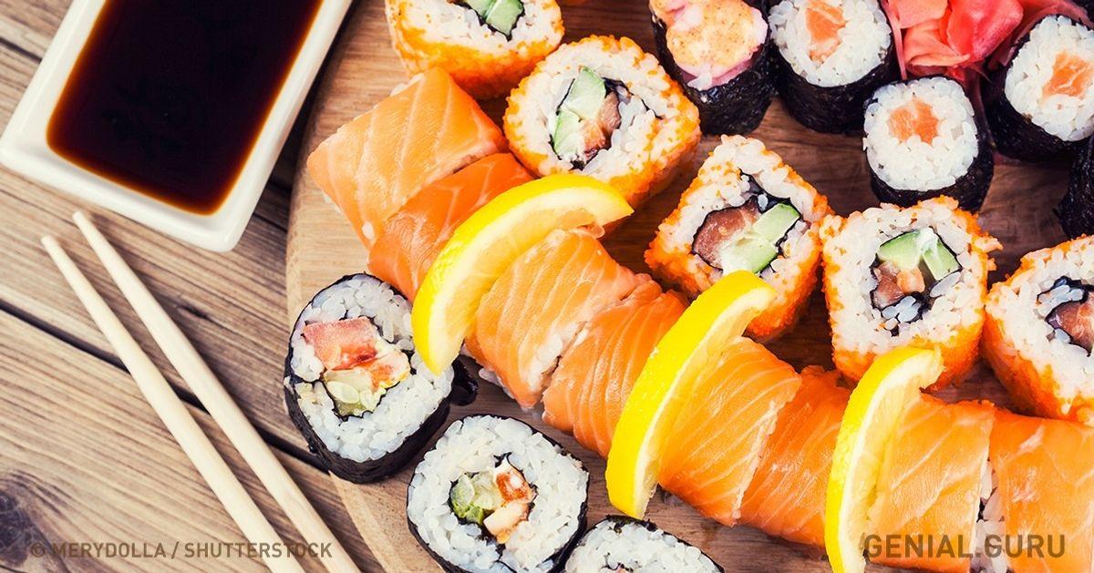 6Recetas demaki para todos los enamorados del sushi