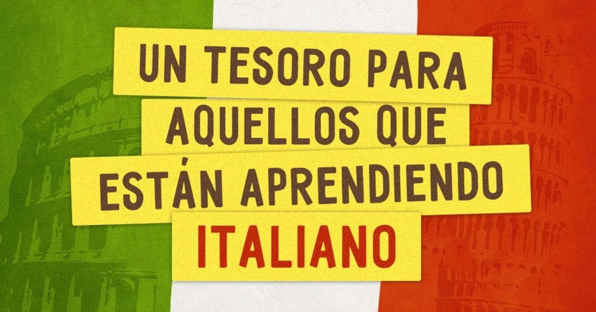 22Páginas web para aquellos que están aprendiendo italiano