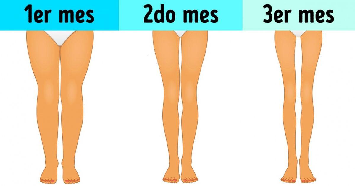 3 Ejercicios Sencillos Que Solo Te Toman 3 Minutos Al Día Y Adelgazan Tus Piernas