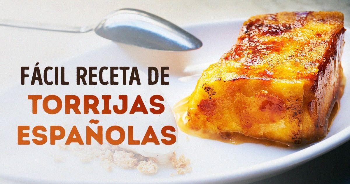 Lamás fácil receta detorrijas españolas