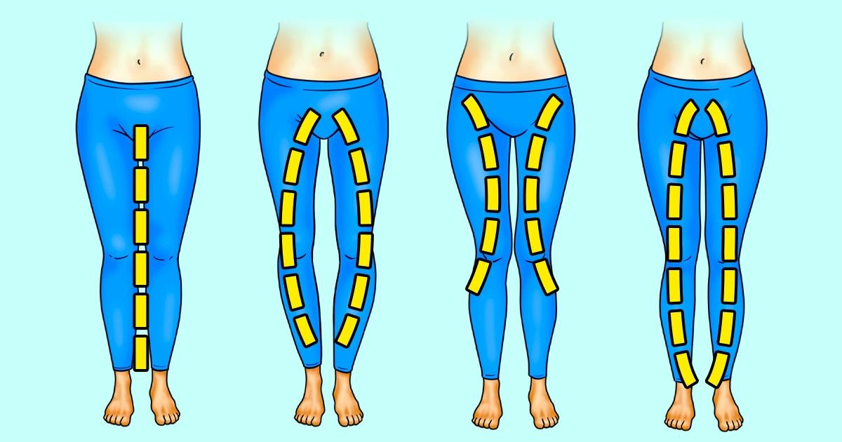 Qué ejercicios necesitas realizar según la forma de tus piernas