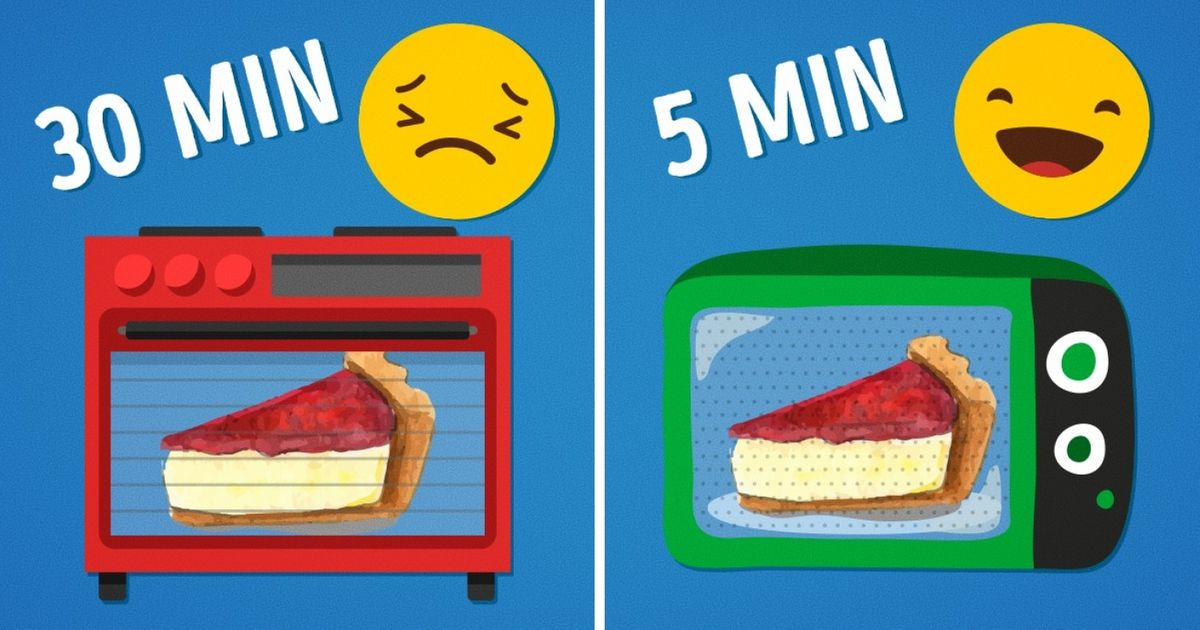 5Deliciosos platillos que puedes preparar entumicroondas enmenos de15minutos
