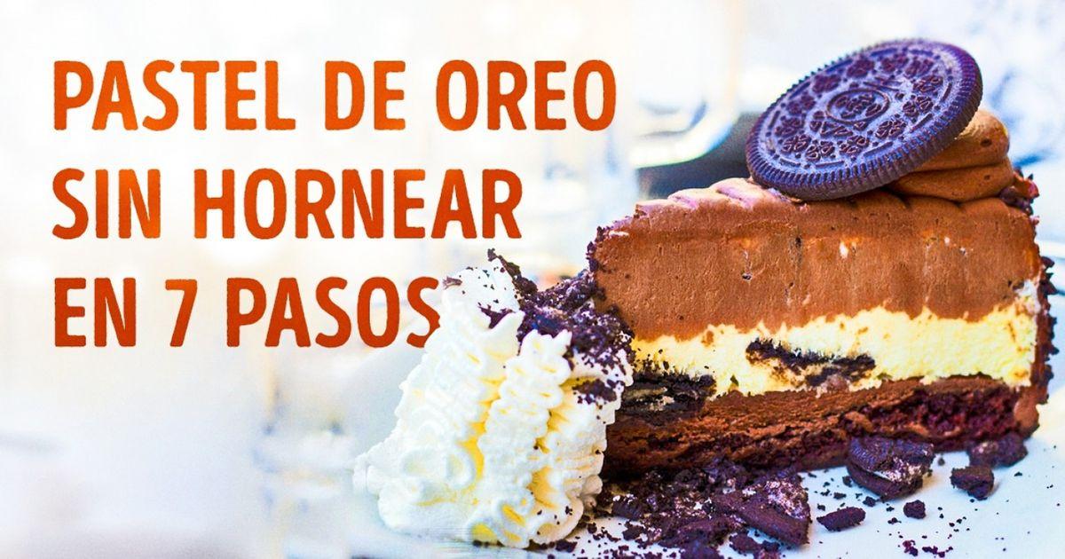Lareceta del pastel deOreo sin hornear más exquisito del mundo