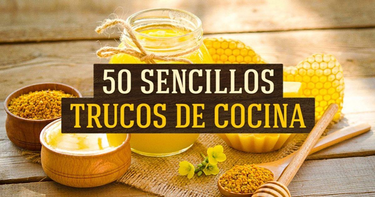 50Sencillos trucos culinarios que harán lacomida más saludable