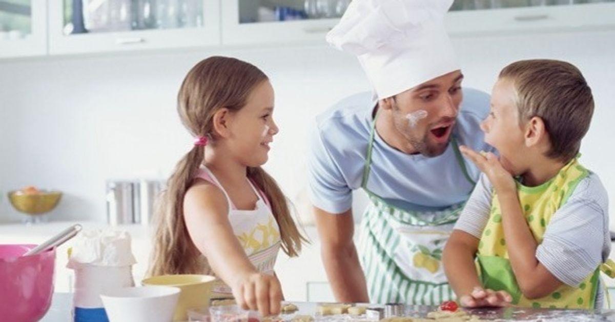 6Recetas fáciles para preparar junto alos niños