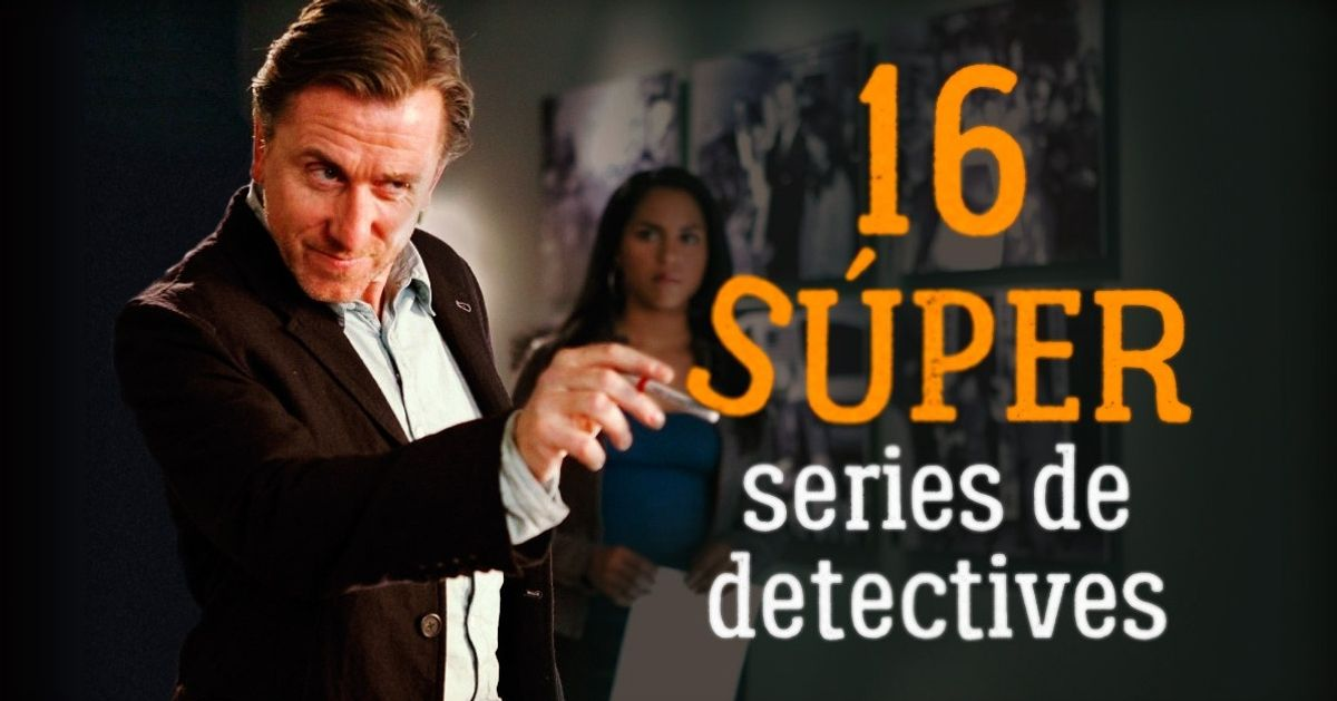 16 Súper series de detectives