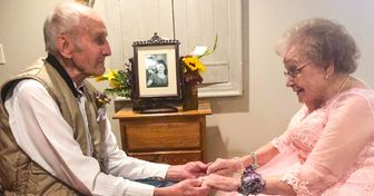 Una pareja de abuelitos celebraron sus 72 años de casados de una manera única y especial para ambos