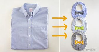 10Maneras fabulosas dereciclar una camisa dehombre