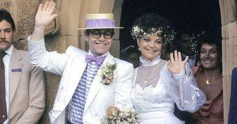 20 Famosos que irradiaron felicidad en el día de su boda, y algunas curiosidades de su historia de amor