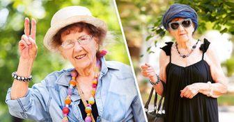 Esta abuela asus 90años creó una cuenta enInstagram yseconvirtió enuna estrella