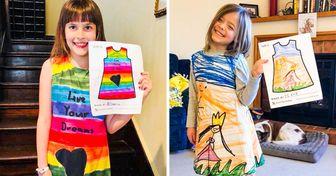 Una empresa convierte las ilustraciones de los niños en ropa (tu hijo también puede diseñar sus propias prendas)