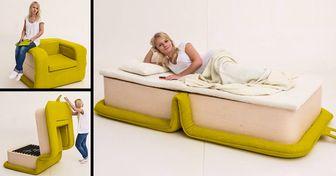 20+Muebles multifuncionales que fueron hechos para los hogares pequeños