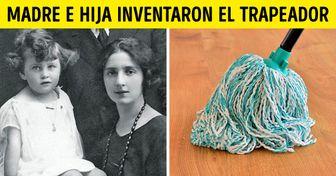 15 Objetos de uso doméstico que fueron inventados por mujeres