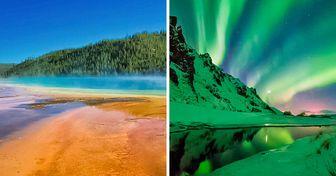 21 Paisajes que sorprenden por sus colores y su gran belleza