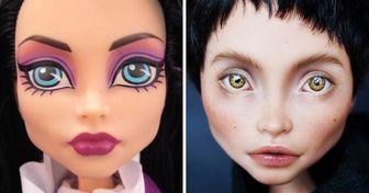 Una artista transforma muñecas populares detal manera que los coleccionistas detodo elmundo sueñan con cada una deellas