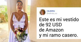 20+ Mujeres mostraron con orgullo sus vestidos de boda, los cuales les costaron casi nada