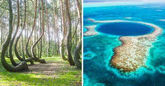 20 Lugares que demuestran que la Tierra es un lugar único y extraordinario