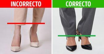 10 Trucos visuales de estilistas para hacer que tus piernas cortas parezcan más largas