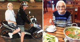 Una viajera rusa de90años temuestra cómo hay que aprovechar lavida