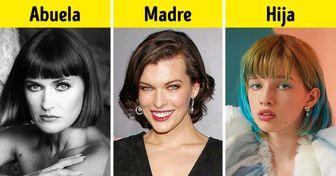 3 Generaciones de 10 dinastías de celebridades cuyas mujeres han evolucionado hacia la perfección