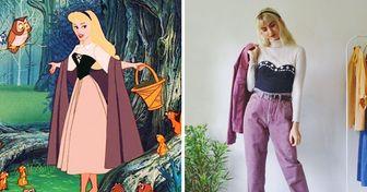 """Hermanas muestran con estilo """"vintage"""" cómo se vería el vestuario de personajes famosos en la vida real"""