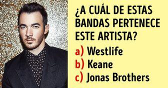 Test: ¿Podrás responder a qué bandas musicales pertenecen estos 20 artistas?
