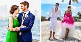 25 Novias que rechazaron los tradicionales vestidos blancos y no se equivocaron