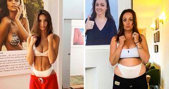 Una mujer de Australia hace parodias de las perfectas fotos de los famosos y les da un giro hacia la vida real (nueva selección)