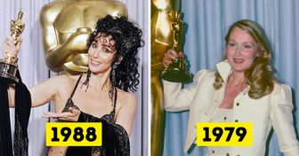 26 Fotos de famosas cuando ganaron un Óscar por primera vez