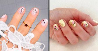 """20 Diseños de """"nail art"""" que lucen perfectamente en uñas cortas"""
