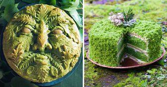 Una artista de la cocina logra que sus preparaciones se conviertan en obras de arte que cautivan los sentidos
