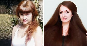 Esta joven dejó crecer su cabello hasta 1,5 metros de largo (y está convencida de que cualquiera puede hacer lo mismo)