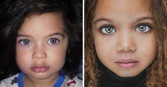 20 Niños que heredaron la belleza de diferentes naciones del mundo