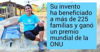 Joven brasileña creó un filtro de agua que funciona con luz solar que ayuda a las comunidades rurales