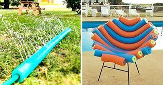 20+ Formas originales y creativas de utilizar flotadores de piscina